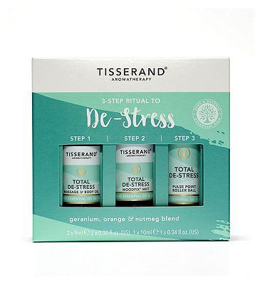 Tisserand Aromatherapy 3-Step Ritual To De-Stress
