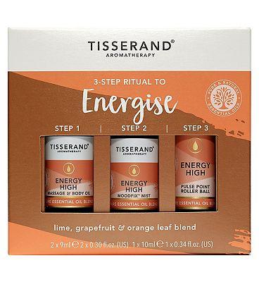 Tisserand Aromatherapy 3-Step Ritual To Energise