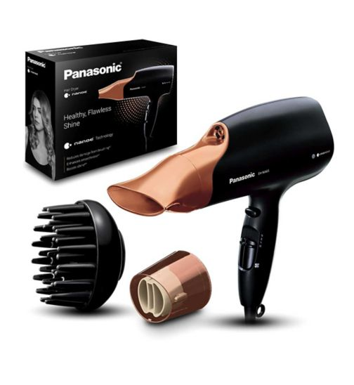 Panasonic Nanoe Hair Dryer EH-NA65CN Rose Gold - Exclusive to Boots