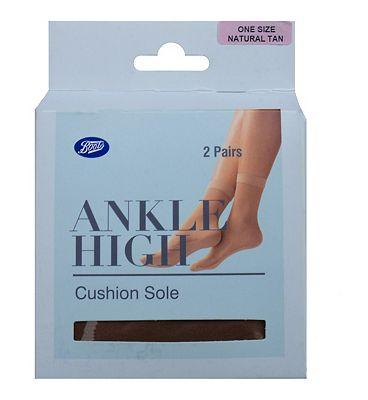 Boots cotton sole ankle high 1 sz 2s
