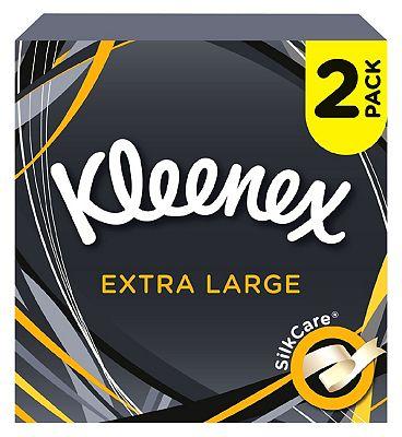 Kleenex Mansize Tissues 44s x2