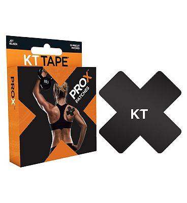 KT Tape Pro X Patch Black