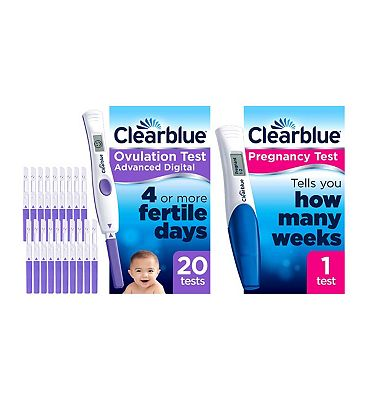 Clearblue Ovulation and Pregnancy Test Bundle