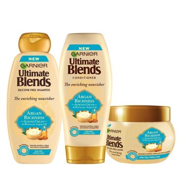 Garnier Ultimate Blends Argan Oil & Almond Cream Dry Hair Regime by Garnier