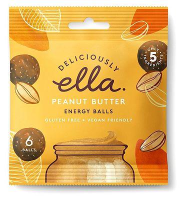 Deliciously Ella Energy Balls - Peanut Butter 48g