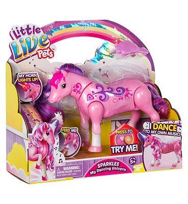 Little Live Pets Sparkle My Dancing Unicorn