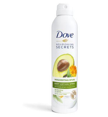 Shoptagr Dove Nourishing Secrets Invigorating Ritual Body Lotion Spray 190ml By Dove