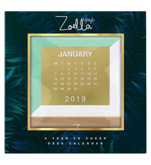 Zoella Lifestyle A Year to Cheer Desk Calendar