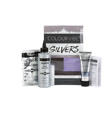 Colour:Vibe Silvers Powdered Steel