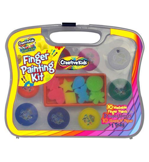 Creative Kids Finger Painting Kit