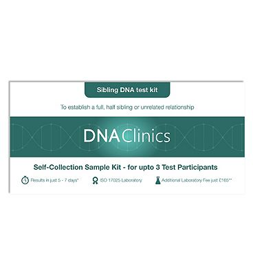 DNA Clinics Sibling DNA Test Kit