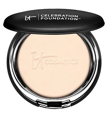 Click to view product details and reviews for It Cosmetics Celebration Powder Foundation Light.