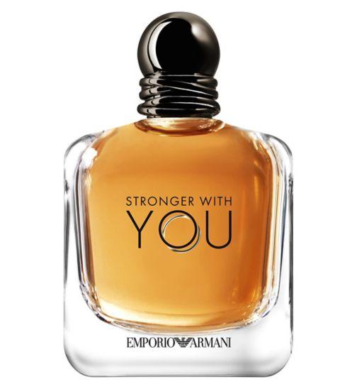 Emporio Armani Stronger With You Mens Eau de Toilette 150ml