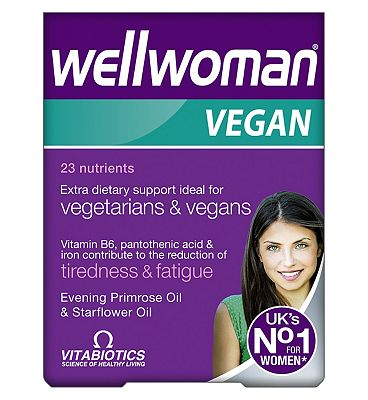 Vitabiotics Wellwoman Vegan 60 tablets