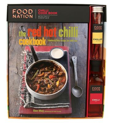 Food Nation Chilli Cook Book With Chili Essentials by Food Nation