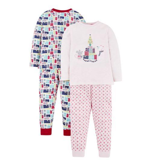 Mini Club Christmas 2 Pack Pyjama 71beb4700