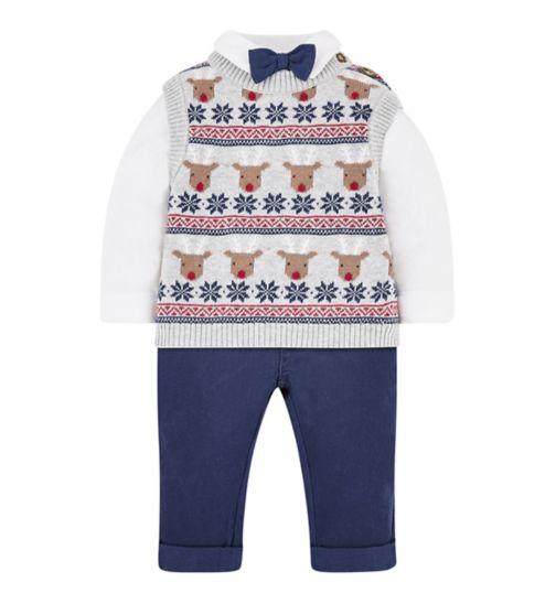 4ae3801523ad Mini Club Christmas 3 Piece Set