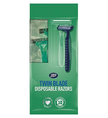 Image of Boots Twin Blade Disposable Razor 10 Pack