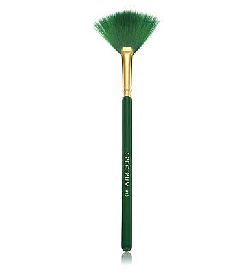 Spectrum Collections Malachite A10 Small Fan Brush