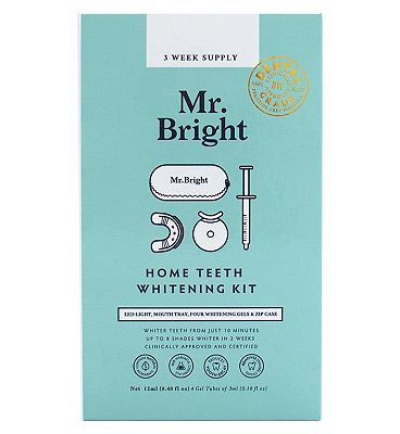 Mr Bright LED Teeth Whitening Kit with Case