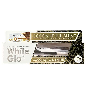 White Glo Coconut Oil Shine Toothpaste