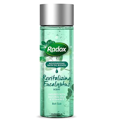 Radox Bath Oil Revitalizing Eucalyptus Scent 200ml