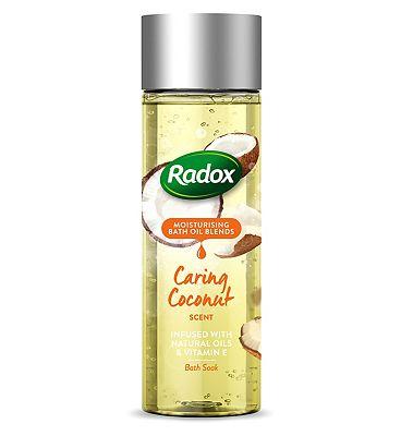 Radox Bath Oil Caring Coconut Scent 200ml
