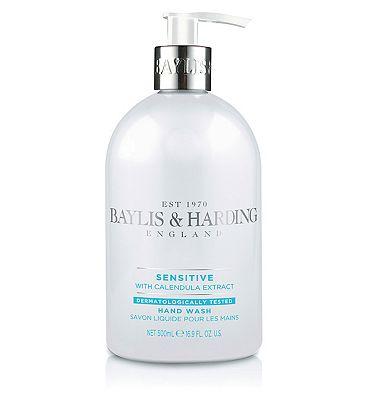 Baylis & Harding Sensitive Fragrance Free 500ml Hand Wash