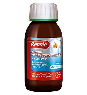 Rennie Liquid Heartburn Relief Oral Suspension - 250ml