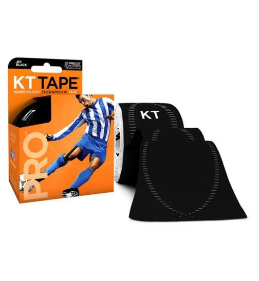 KT Tape Pro Synthetic Jet Black