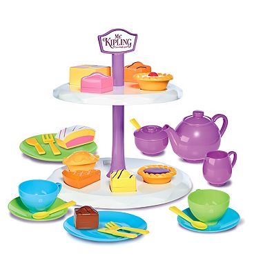 Casdon Mr Kipling Cake Stand & Tea Set