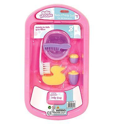 Casdon Dolls Bath & Potty