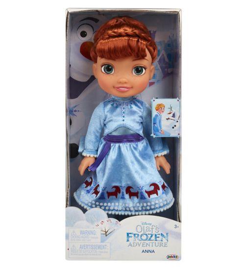 Olaf's Frozen Adventure Toddler Doll - Anna