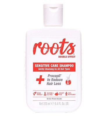 Roots Double Effect Sensitive Care Shampoo 250ml