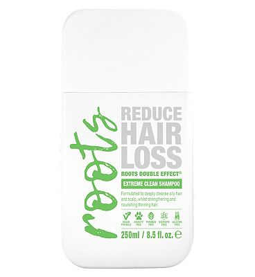 Roots Double Effect Extreme Clean Shampoo 250ml