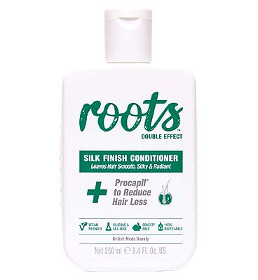 Roots Double Effect Silk Finish Conditioner 250ml