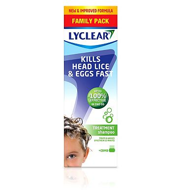 Lyclear Treatment Shampoo with Comb 300ml