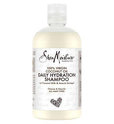 Shea moisture 100% virgin coconut oil daily hydration shampoo 384ml