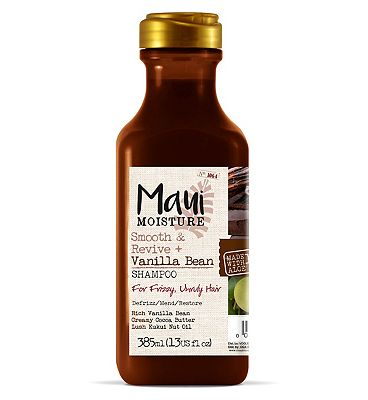 Maui Moisture Smooth and Revive Vanilla Bean Shampoo 385ml