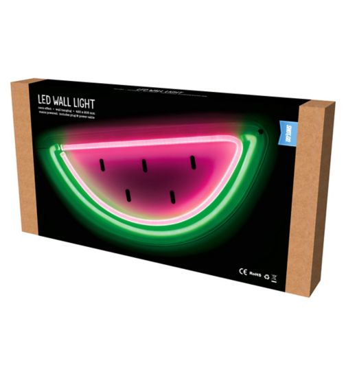 Shot2go watermelon neon LED wall light
