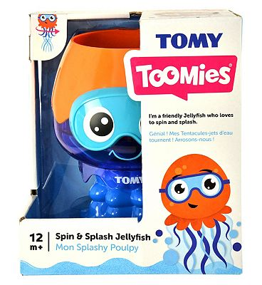 TOMY Toomies Spin and Splash Jelly Fish