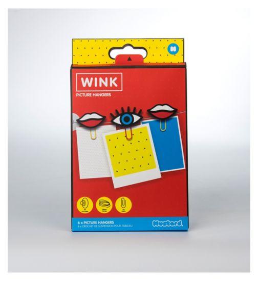 Mustard Picture Hangers - Wink