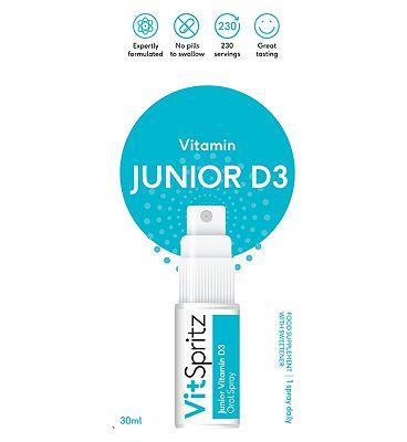 VitSpritz Junior D3 Oral Spray 10 g - 30ml