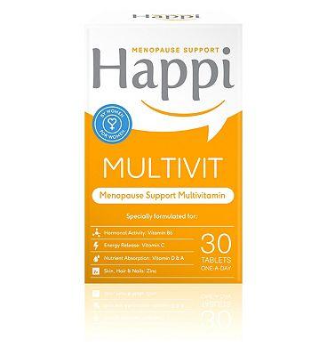 Happi Menopause Support Multivit Tablet 30s