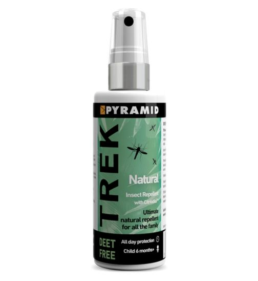 Trek Natural Insect Repellent Pump Spray with Citriodiol™ 60ml