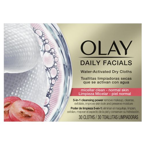 Olay Daily Facials 5-in1 Dry Cloths - Normal Skin | Boots