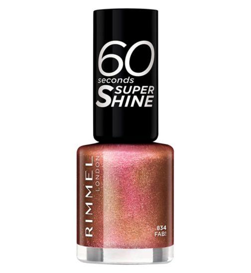 Rimmel 60 Seconds Glitter Nail Polish