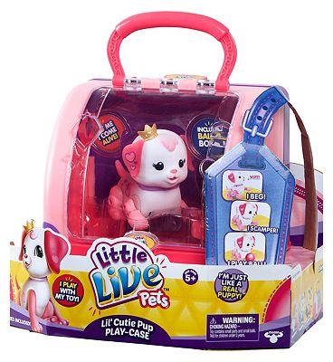 Little Live Pets Cutie Pups Play Case
