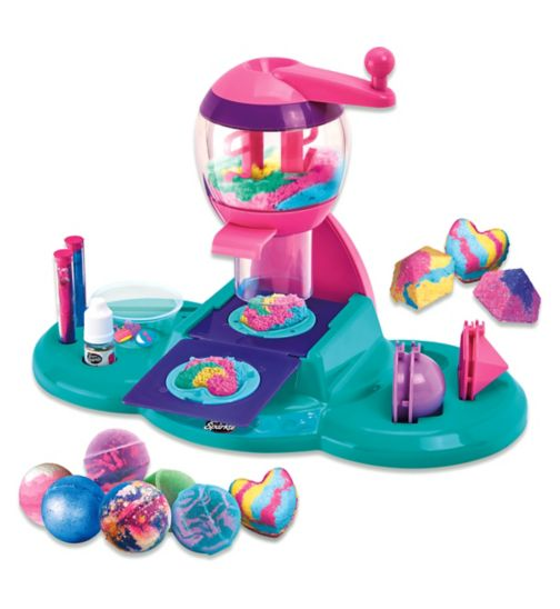 Cra Z Art Shimmer And Sparkle Spa Creations Bath Bomb Maker