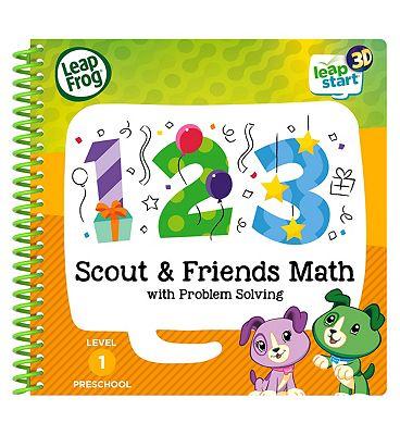 LeapFrog Scout & Friends Activity Book 3D   Maths